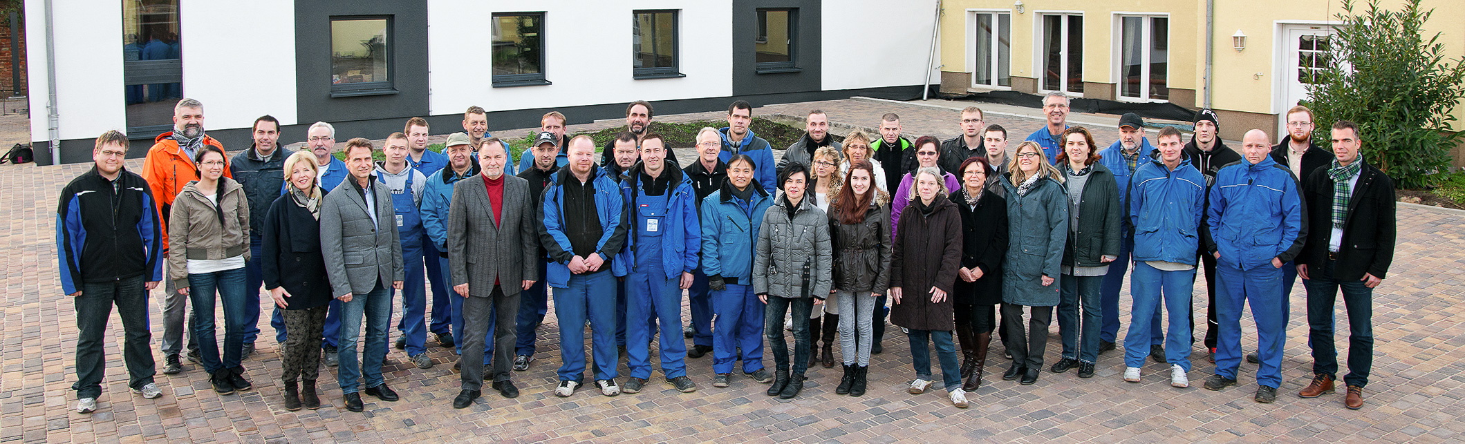 Our Staff, group photo