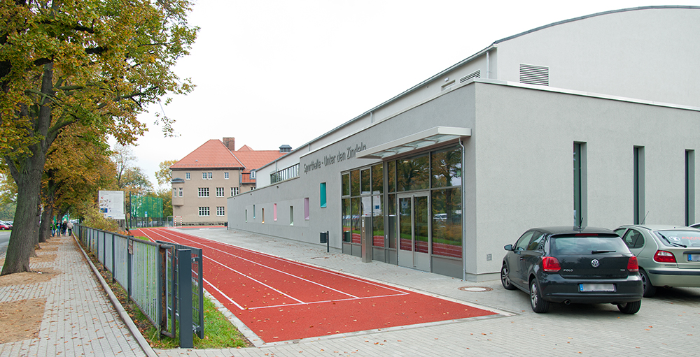 """Sporthalle """"Unter den Zindeln"""" Neubau"""