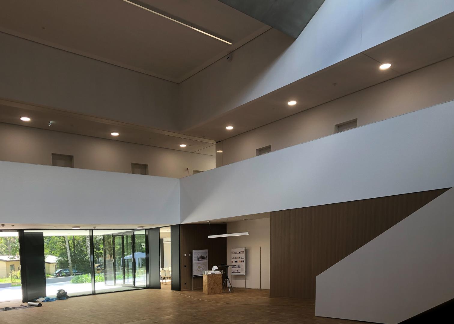 Foyer des ATB Potsdam